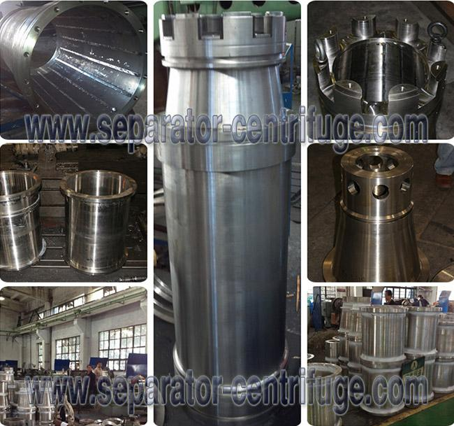 New Designed Industrial Scale Drilling Mud Centrifuge with SS wet parts