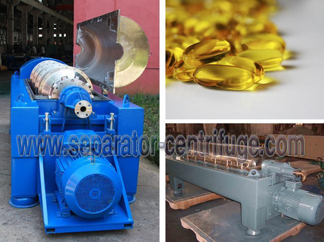 Sanitary Horizontal Type Fish Oil Separator - Centrifuge Made in China