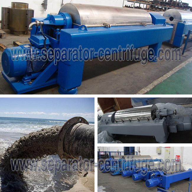 Sludge Dewatering Decanter Centrifuge Wastewater Treatment Plant Equipment