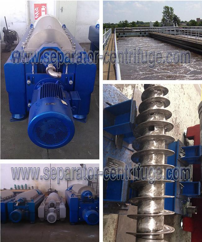 Easy Operate Program Control Decanter Wastewater Treatment