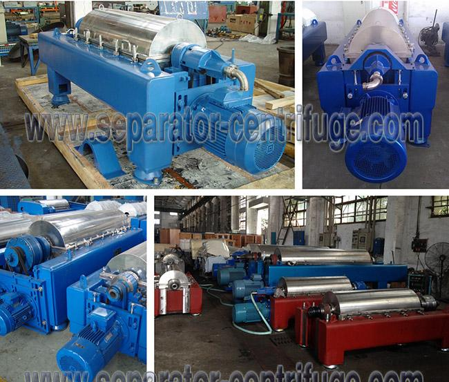 Industrial Scale Automatic 3-Phase Decanter Centrifuge for Palm Oil