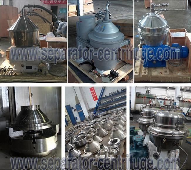Vertical Style Three Phase Disc Stack Centrifuges for Milk Purifying