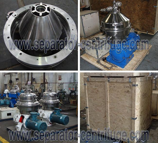 Automatic 3-phase Disc Stack Food Centrifuge for Milk Skimming