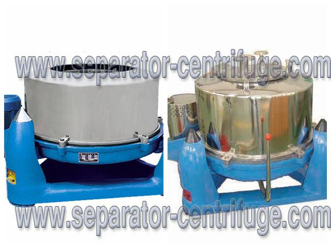 Three Footed Manual PTDM Top Discharge Centrifuge Basket Centrifuge For Vegetables