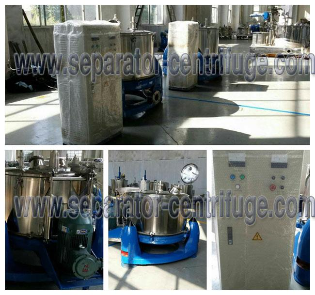 Stainless Steel Adjustable Pharmaceutical Centrifuge PBL For Chemical , Extraction Machine