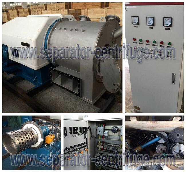 Large Capacity Horizontal Pushing Type Food Centrifuge for Salt Dewatering
