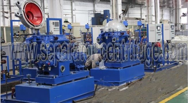 HFO Purifier Module Disc Stack Centrifuges , HFO LO DO Separation Disc Separator