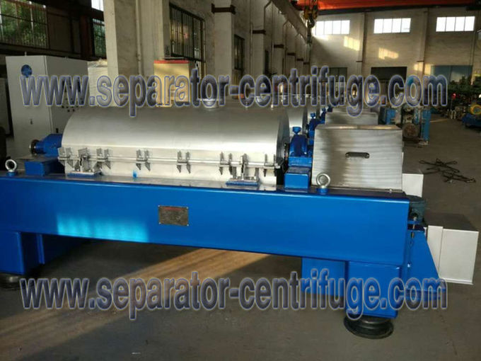 Automatic High Salt Waste Water Titanium Centrifuge With SKF Bearing