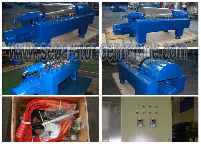 LW450 Wastewater Treatment Plant Equipment , Dewatering System Steel Mill Sludge