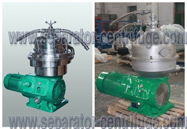 Automatic 3 Phase Separator Centrifuge Filtration Systems Continuous Palm Oil Bowl Centrifuge