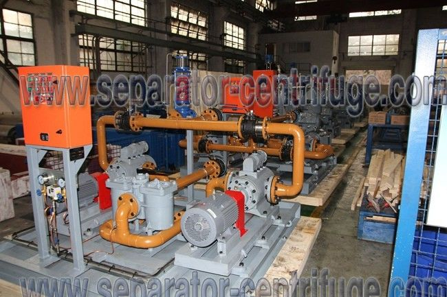 Oil Feed Module Power Plant Equipments Fuel Booster Diesel Engine Power Plant