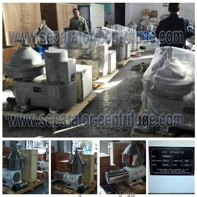 Fat Separator 3 Phase Centrifuge, High Speed Disc Stack Cream Skimmer