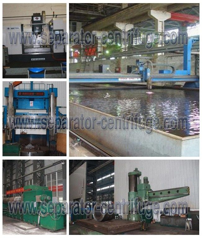Disc Nozzle Starch Separator / Stainless Steel High Speed Centrifuge