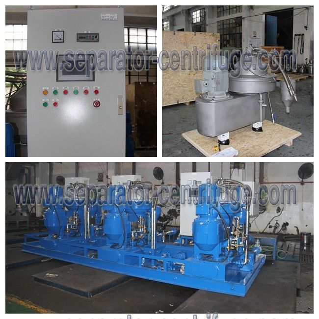 Oil Treatment System Disc Stack Centrifuge with Skid for Land Power Plant