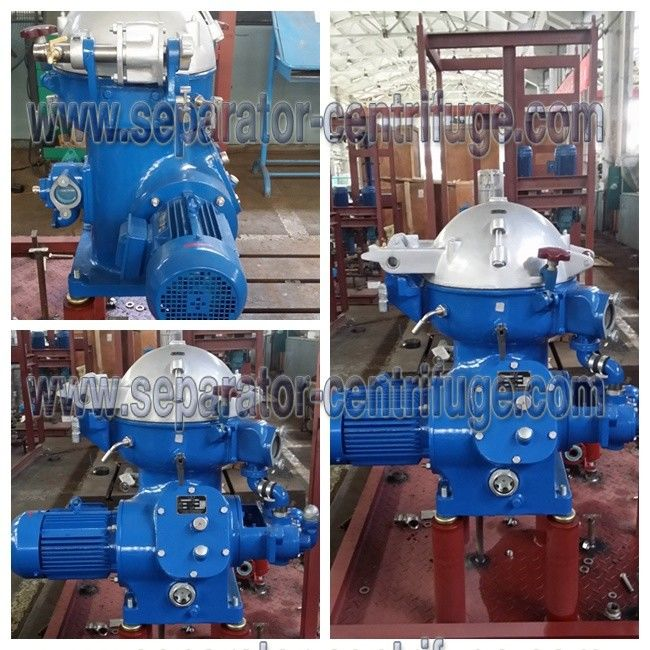 Marine Oil / Diesel oil / Lubricant Centrifugal Separator Equipments Manual Discharging