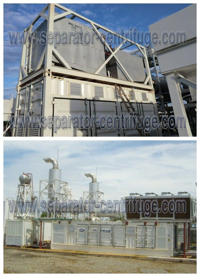 Container Type HFO LO Fuel Handing Systems For Land Power Station
