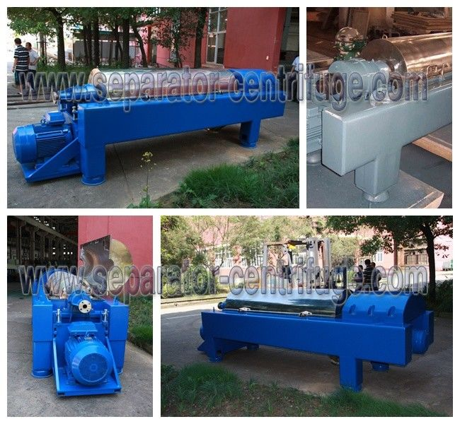 3 Phase Liquid Liquid Solid Separation Decanter centrifuges Machine Continuous Tricanter Centrifuge