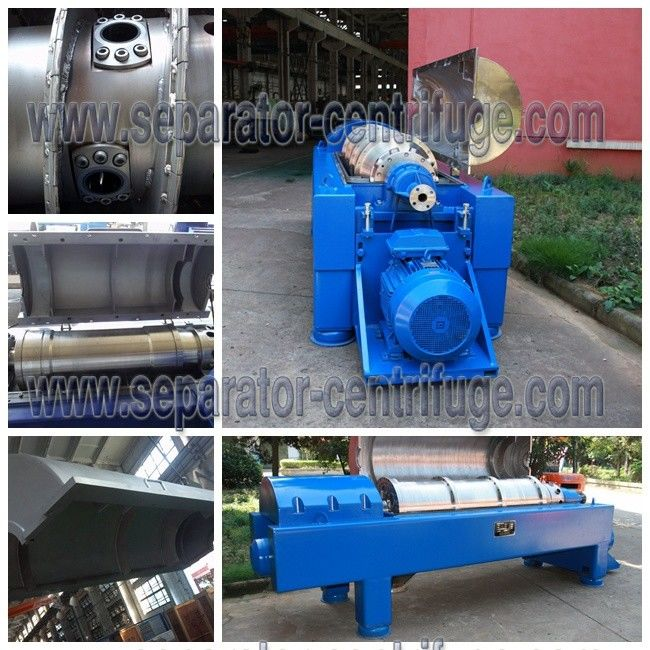 2 Phase Solid Liquid Separation Decanter Centrifuge With Centripetal Pump