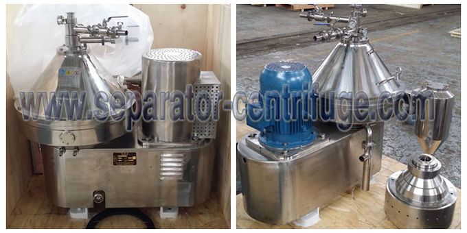 Model PDSM - CN Disc Bowl Centrifuge 2 Phase Milk Separator For Milk Clarifying
