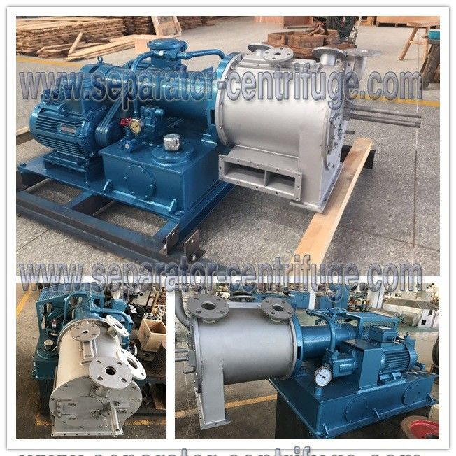 Two Stage Pusher Centrifuge For Sea Salt Dewatering And Mineral Salt