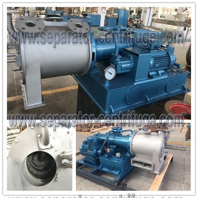 Two Stage Pusher Centrifuge Salt Centrifuge Spare Parts Of Centrifuge Ferrum
