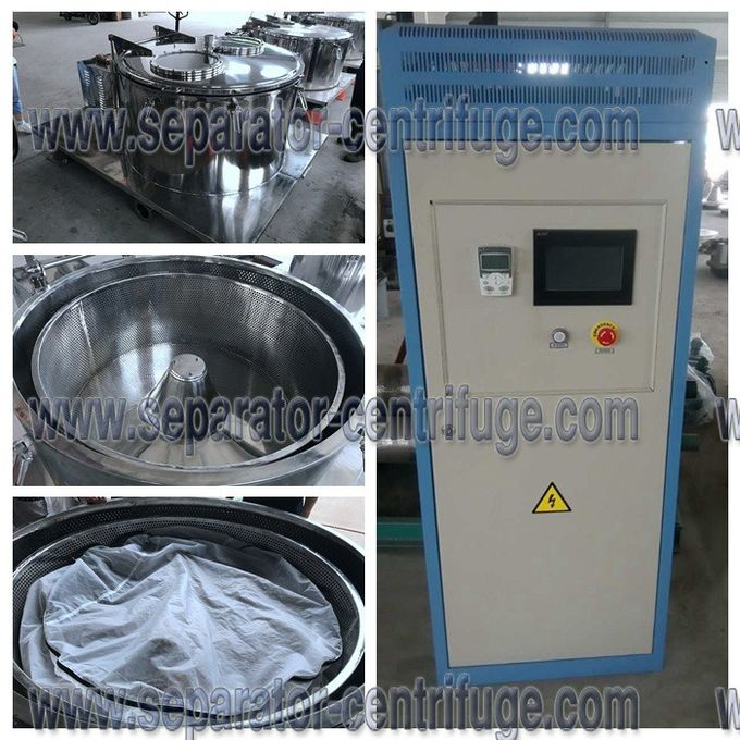 Pharmaceutical Manual Centrifuge Machine For Plant Essential Oil Extraction