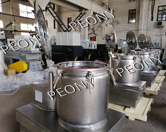 Long Time BB Series Vertical Basket Centrifuge For Hemp Oil Extraction