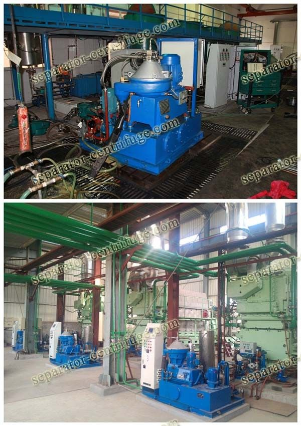 Three Phase Fuel Oil Handling System , Vertical Laboratory Centrifuge