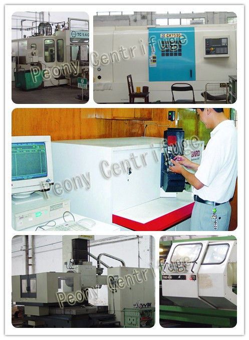 High Speed Solid-Phase Pharmaceutical Centrifuge For Industry , Horizontal Single Stage Pusher Centrifuge