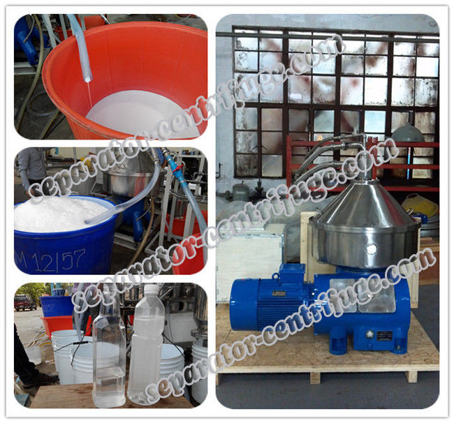 High Performance Fast Speed 3 Phase Centrifuge For Virgin Coconut Oil